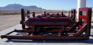 10K PSI CYCLONE ASME SAND SEPARATORS